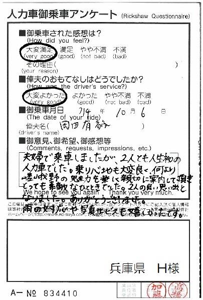兵庫県 H様