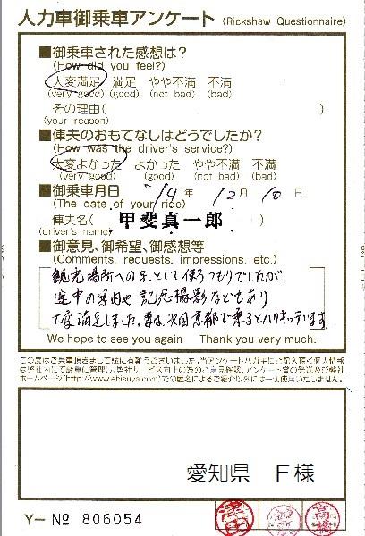 愛知県 F様