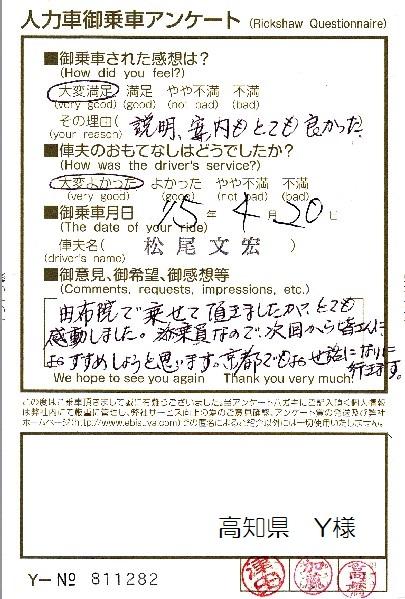 高知県 Y様
