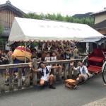人力車乗車体験 嵐山總本店