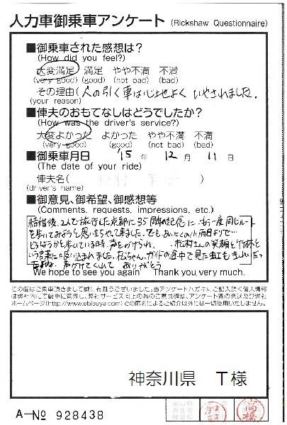 神奈川県 T様