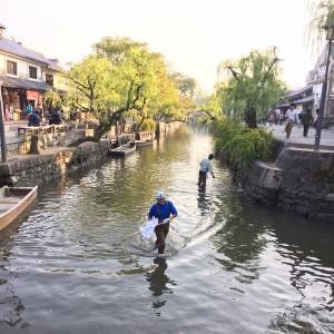 倉敷川定期清掃(11/13・倉敷店)