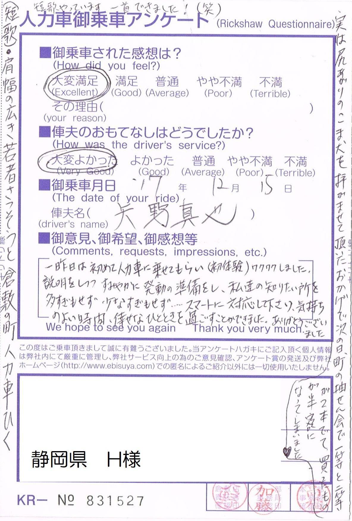 静岡県 H様