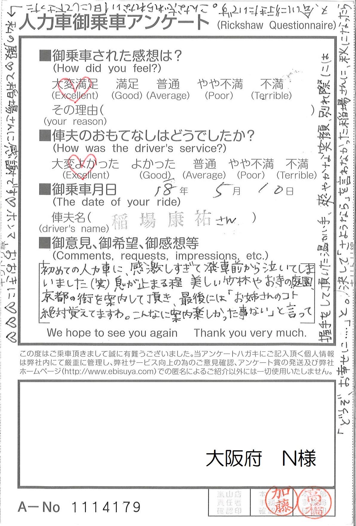 大阪府 N様
