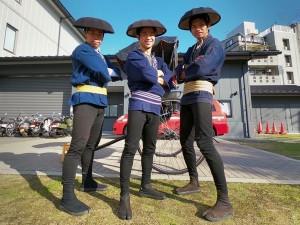 東山区放火防止パレード(11/11・京都東山店)