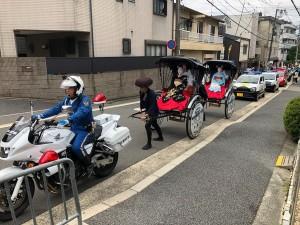 東山区安心・安全・まちづくりパレード(10/5・京都東山店)