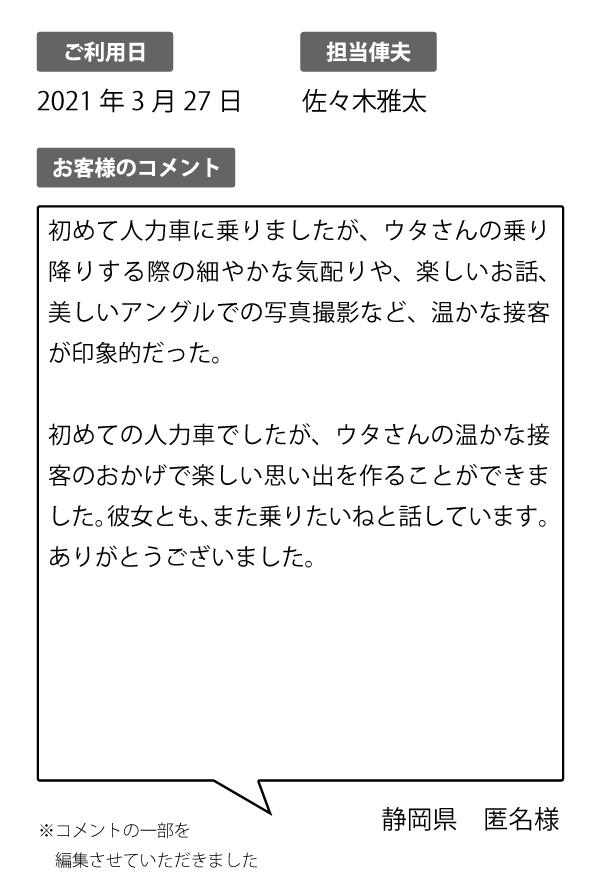静岡県 匿名様